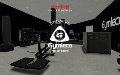 Gymleco öppnar pop-up butik och showroom i Westfield Mall of Scandinavia