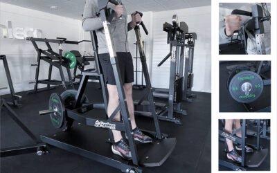 Sverigepremiär för ny gymmaskin